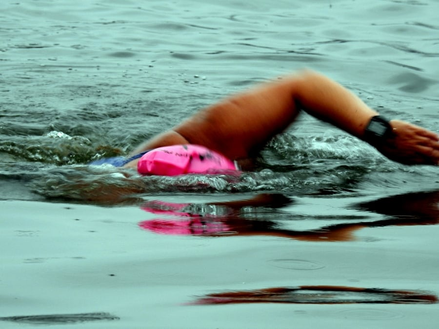 Rebel Plunge swim in Cork