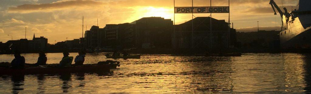 Evening Kayak Cork Harbour Festival