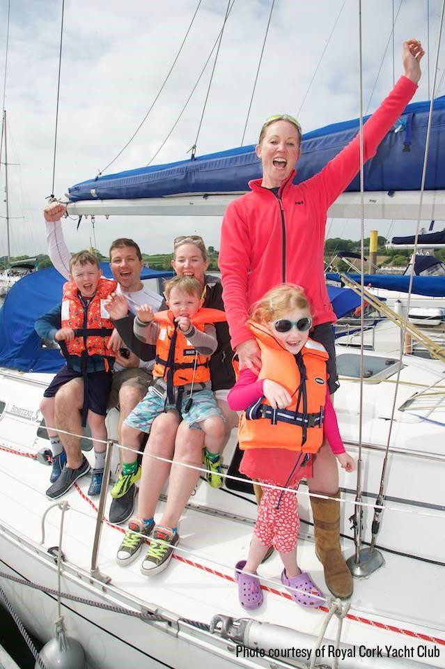Ship Ahoy! Enjoying Royal Yacht Club Open Day as part of Cork Harbour Festival