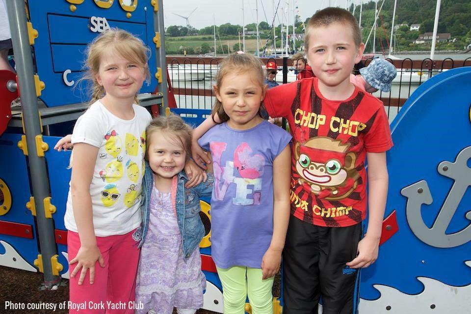 Children enjoying Royal Yacht Club Open Day