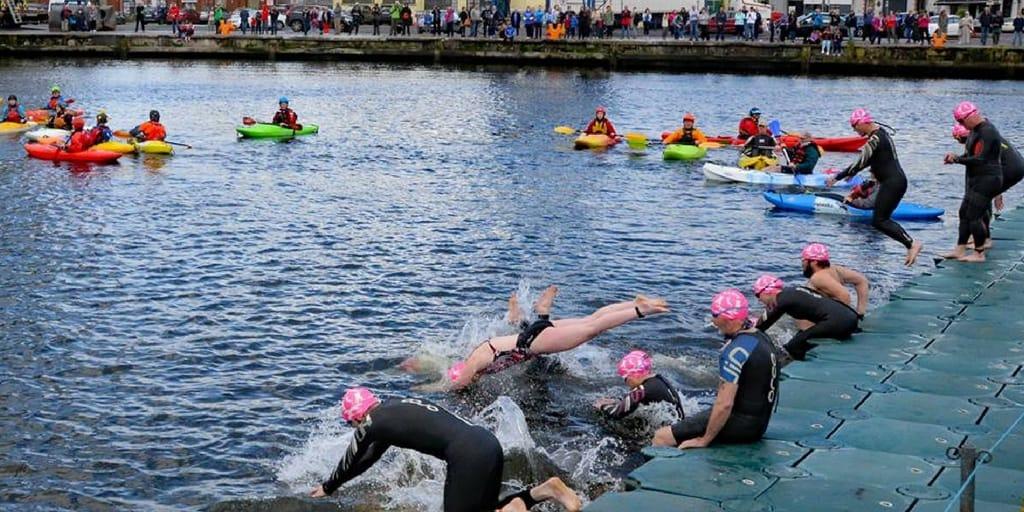 Rebel Plunge Swim for Cork Harbour Festival
