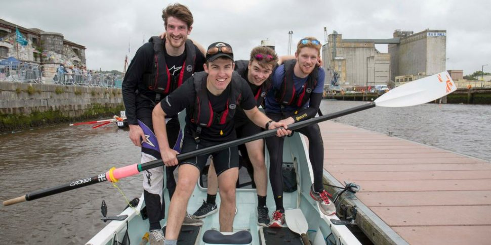 Relentless Rowers in Conversation for Cork Harbour Festival