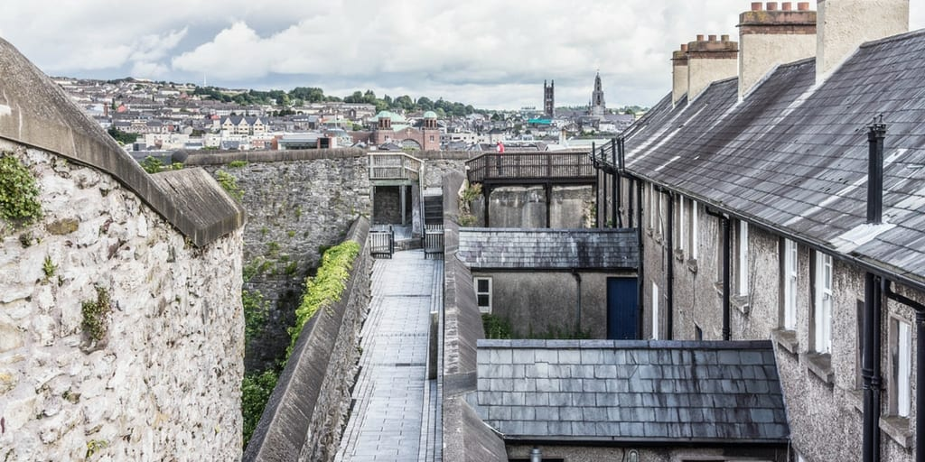 Guided tour of Elizabeth fort for Cork Harbour Festival