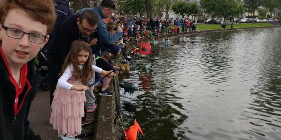 model boat exhibition for Cork Harbour Festival