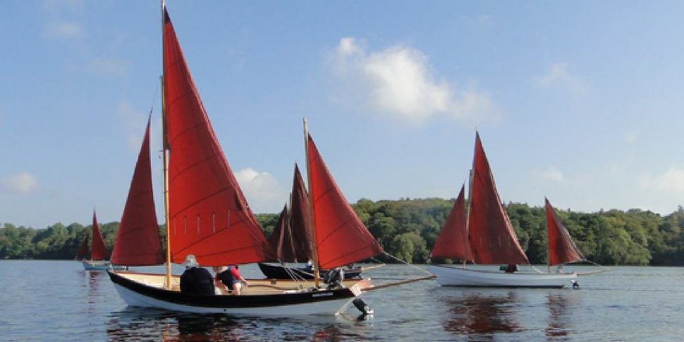 Open boat cruising with Drascombe Association for Cork Harbour Festival