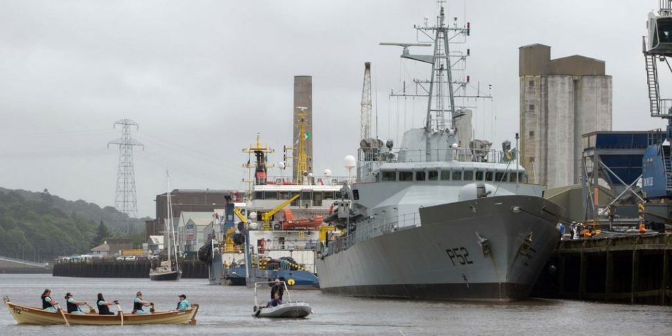 Irish Naval Vessel open day festival